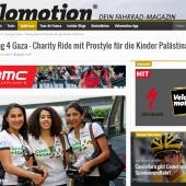 Charity Ride mit Prostyle für die Kinder Palästinas - Velomotion