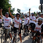 Cycling for Gaza