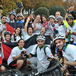 Cyclists Raise Money for Palestinians