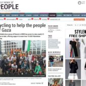 Gulf News - Cycling to help the people of Gaza